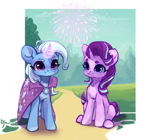 Trixie and Starlight