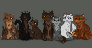 Ferncloud and Dustpelt's  kits