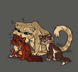 Sandstorm with kits by GrayPillow