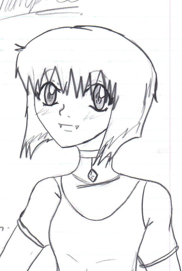 Anime Vampire Girl By NightfireAlchemist7 On DeviantArt