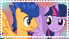 Flash Sentry X Twilight Sparkle by asexual-armadillo