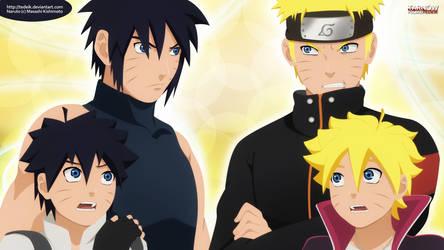 Naruto The New Era - Road to Ninja! Menma and...