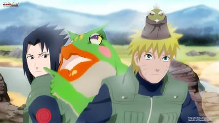 Naruto and Sasuke: top secret mission!