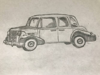 Antique Car (50 Things to Draw)