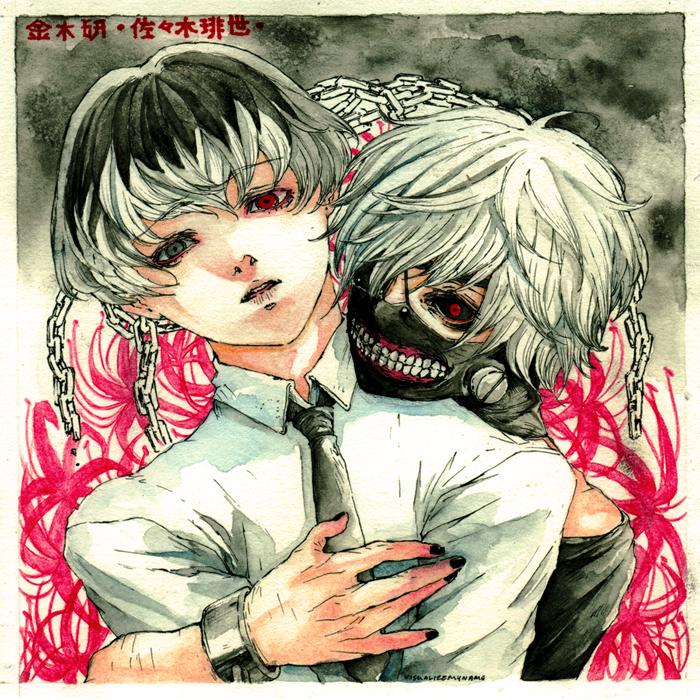 Kaneki/Haise by visualizemyname