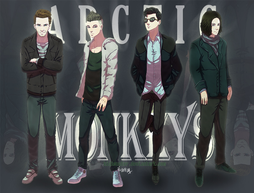 Monkeys From The Arctic by KidiMaster