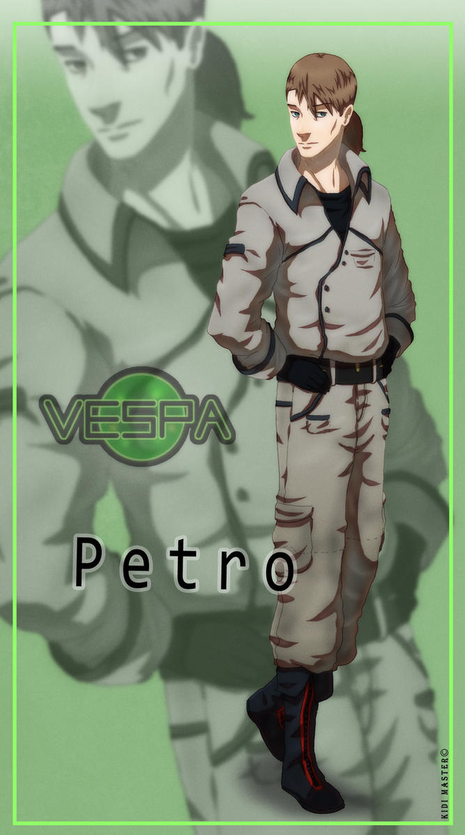 Vespa: Petro Lumiere by KidiMaster