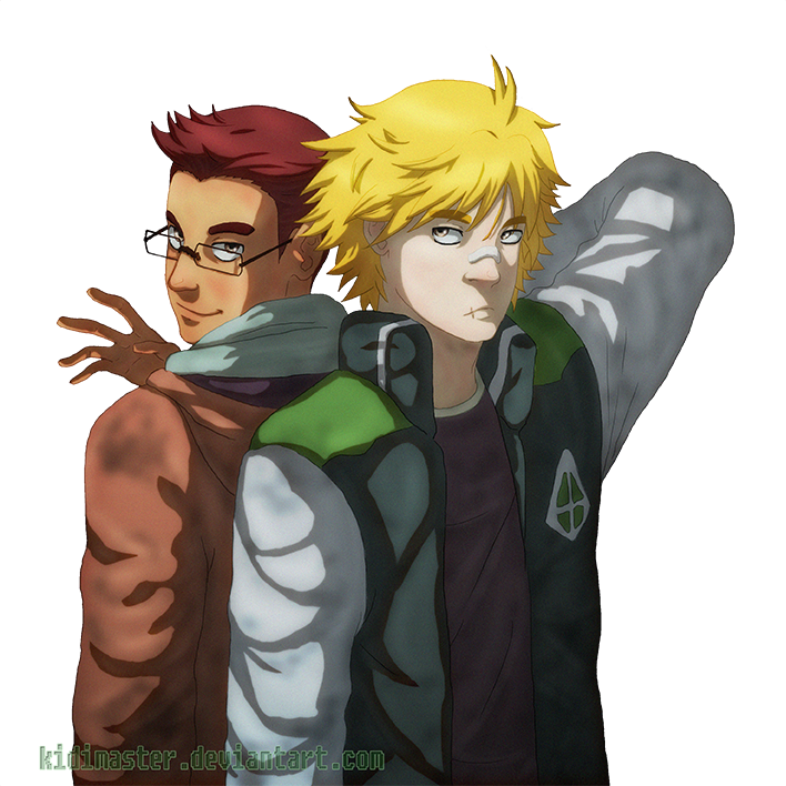 Amateur Hour: Barry and Tyrell by KidiMaster