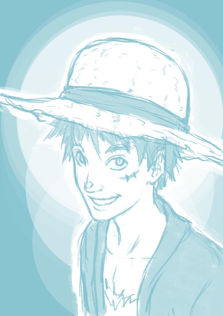 Luffy Boy Sktx by KidiMaster