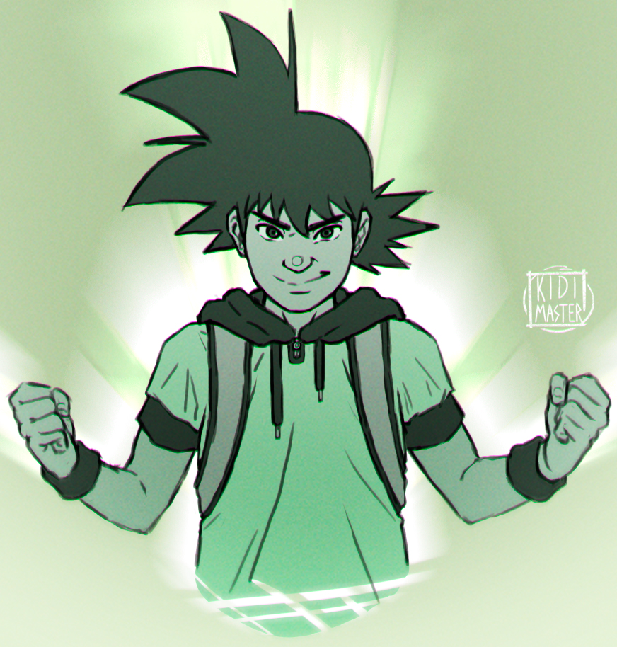 High School Goku SKTX by KidiMaster