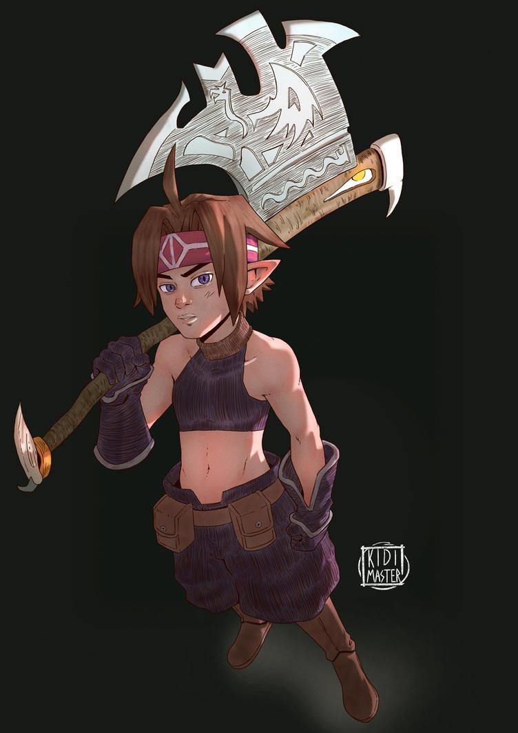 Disgaea Warrior(M) by KidiMaster