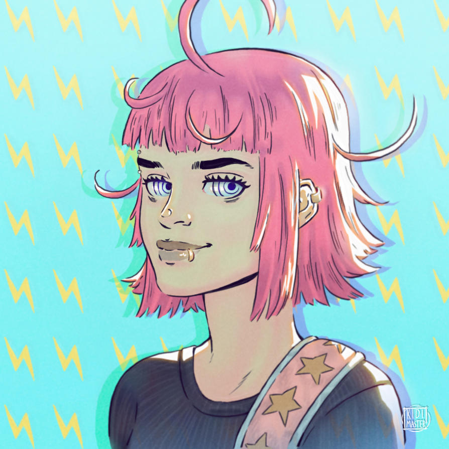 The Bubblegum Girl by KidiMaster