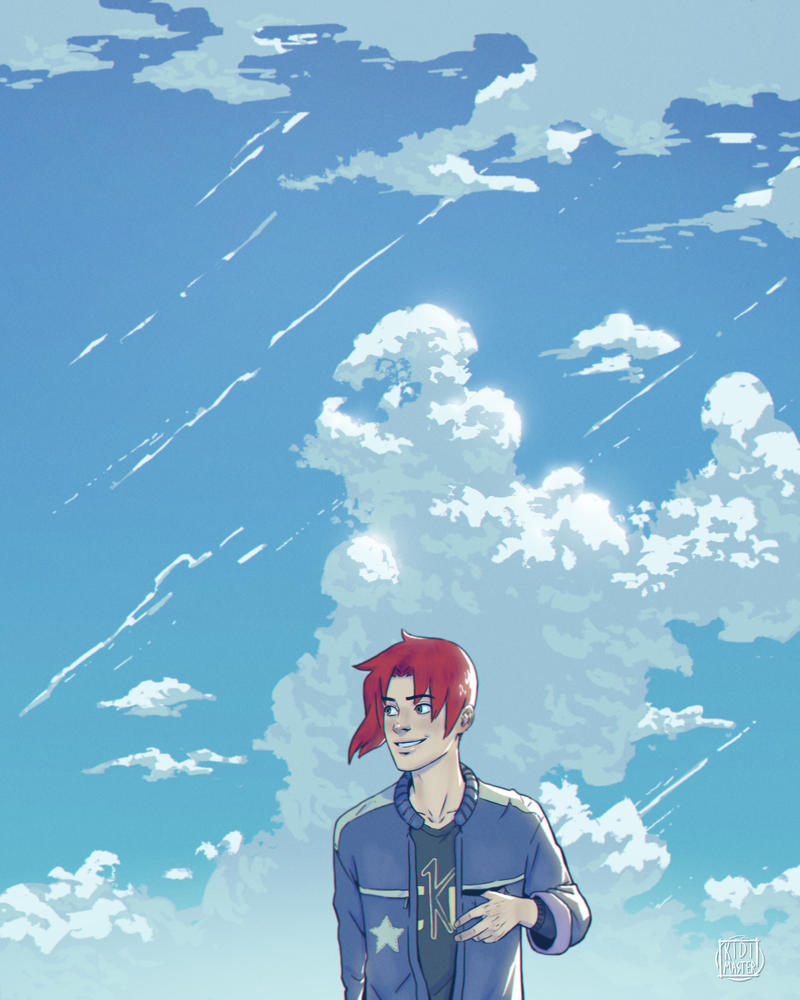 Into The Clouds With Nando by KidiMaster
