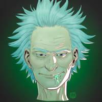 Crazy Granpa Rick by KidiMaster