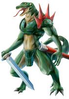 Zelda: Ocarina of Time - Lizalfos by Advent-Hawk