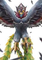 Zelda: The Wind Waker - Helmaroc King by Advent-Hawk