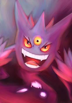 Pokemon -  Mega Gengar