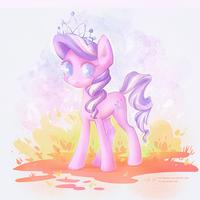 Cute Diamond Tiara by greyredroy