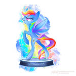 Ministry Mares statuettes series: Rainbow Dash!
