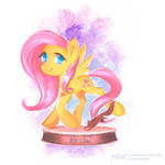 Ministry Mares statuettes series: Fluttershy!