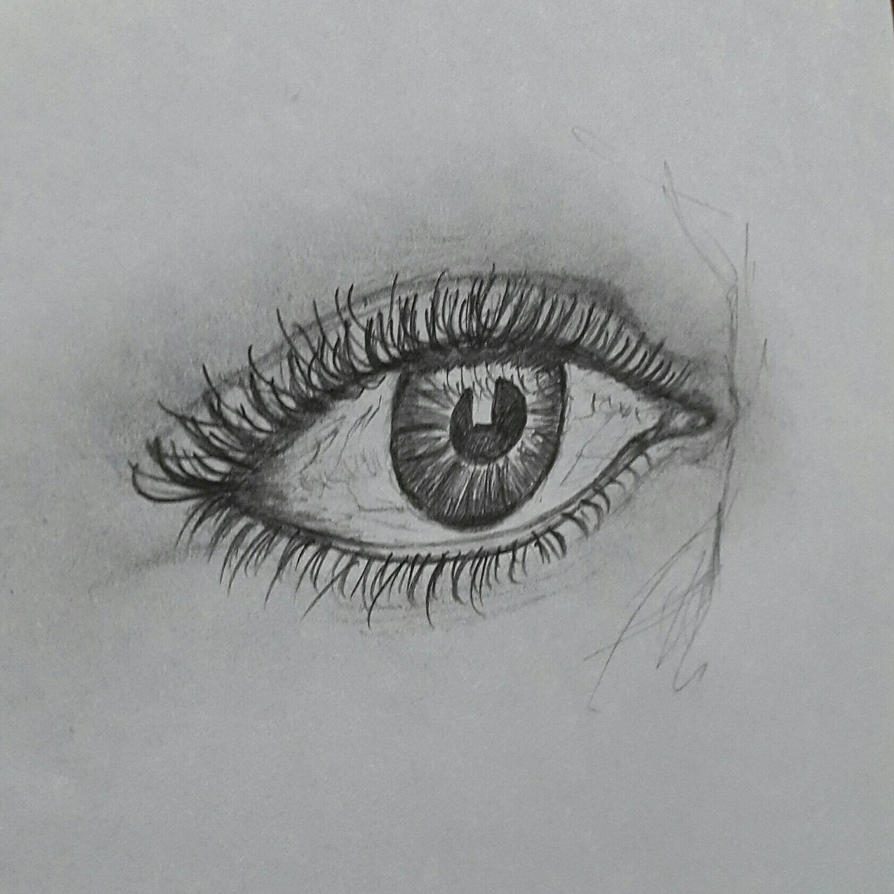 eye drawing by sprinkldust