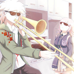 When Hinata-kun isn't around....