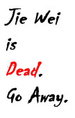 Dead. Go Away. by MarshmallowKingdom