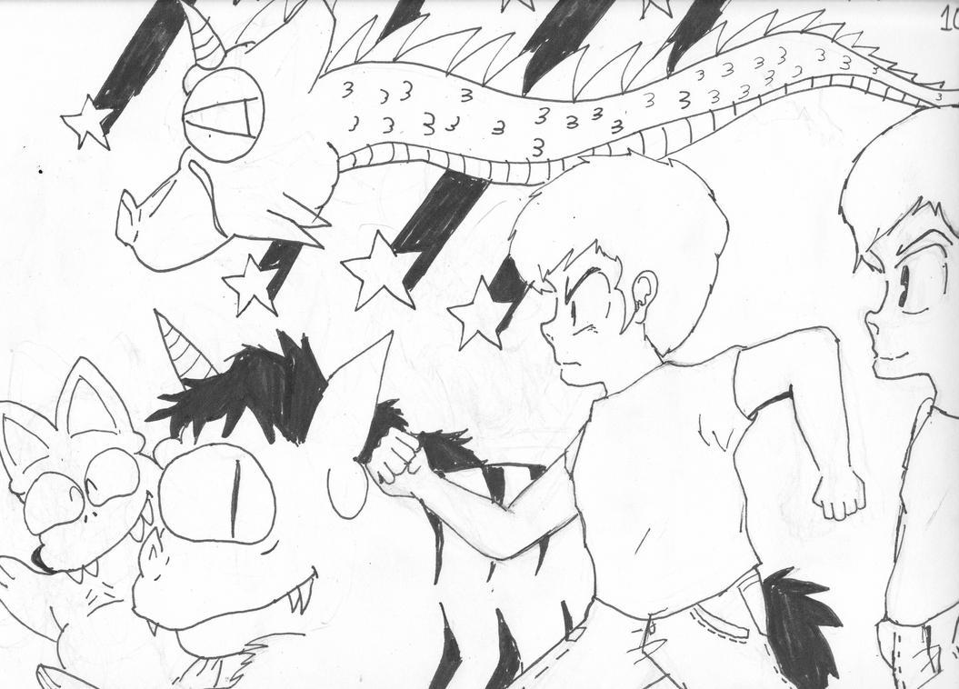 Random Drawing by The-Chibi-Shinigami