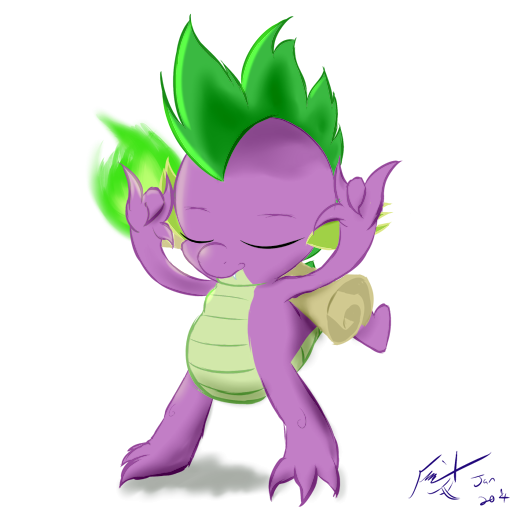 Rock on, Spike by Frist44