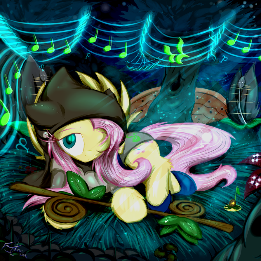 God Tier Fluttershy - Page of Life by Frist44