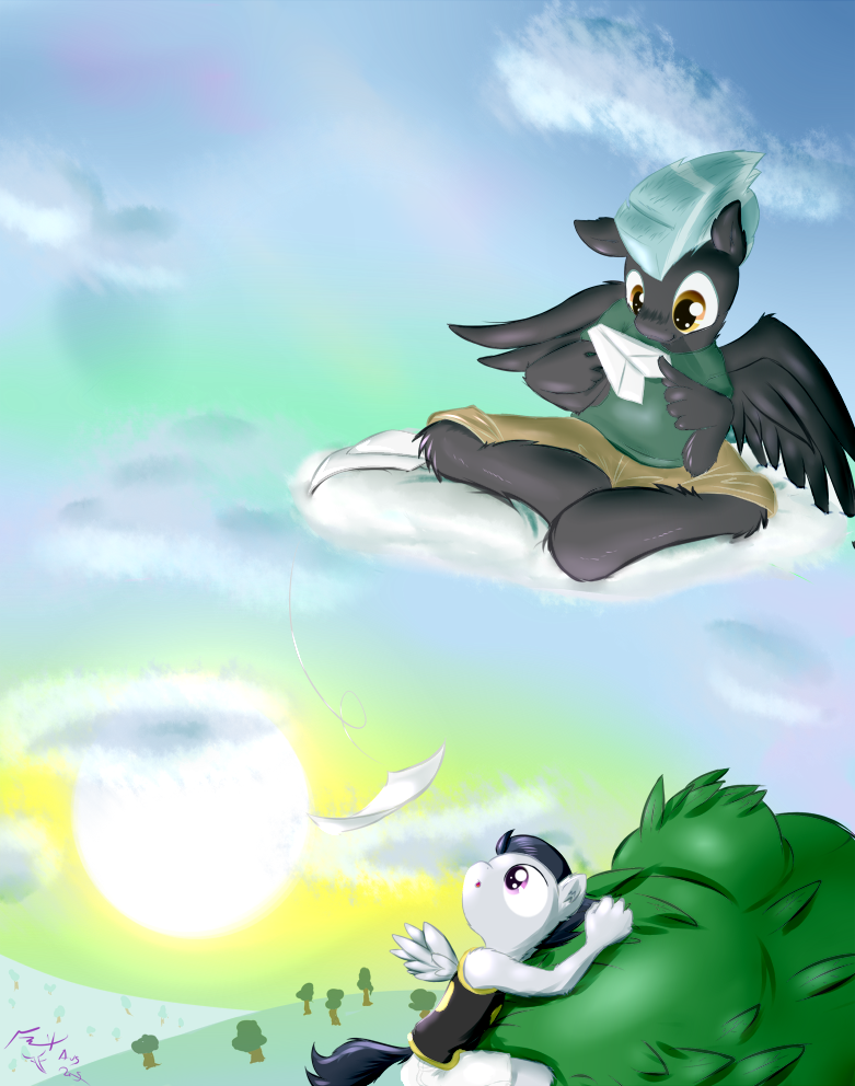 Paper Pegasus by Frist44