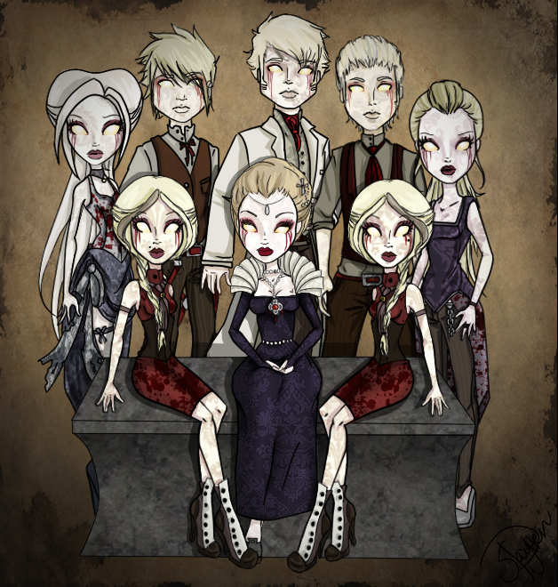 Bloodstone Family Portrait by Amythest621