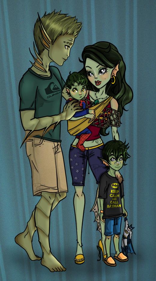 Gilmann Family by Amythest621