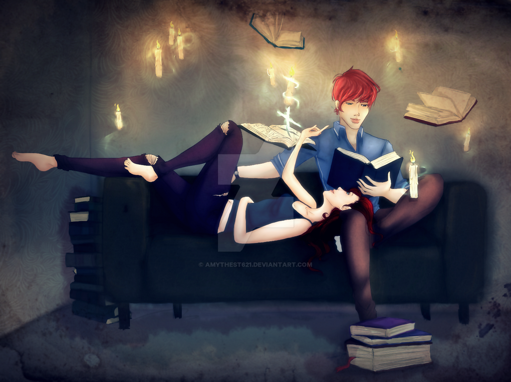 Rei and Elliot by Amythest621