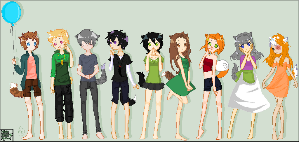 Warrior Cats as Humans Anime Human Warrior Cats by