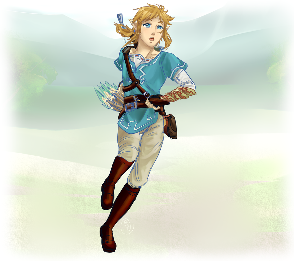 botw link how tall