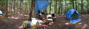 Campsite Panorama