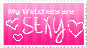 My Watchers are SEXY by EmoRapunzel
