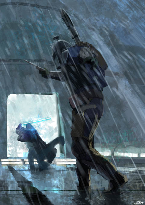 KAMINO'S BATTLE by nachomolina