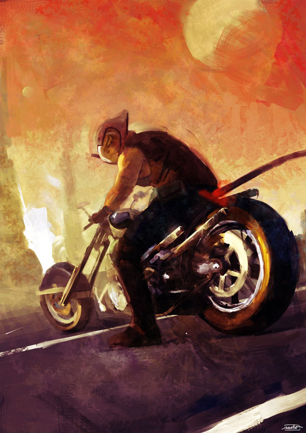 MICE BIKERS FROM MARS by nachomolina on DeviantArt