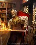 WARHAMMER RPG-Phillip Alder