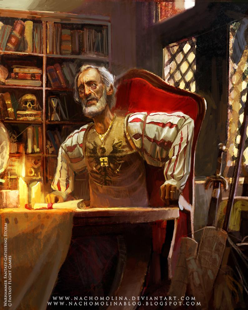 WARHAMMER RPG-Phillip Alder by nachomolina