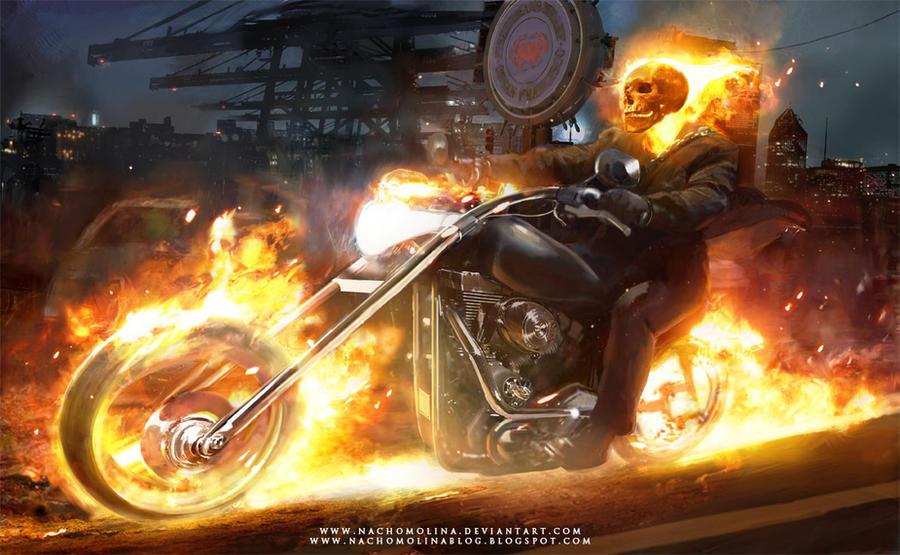 NTV 650 : Fuite carbu ou joint cache-culbus ? Ghost_rider_by_nachomolina-d32ew9j