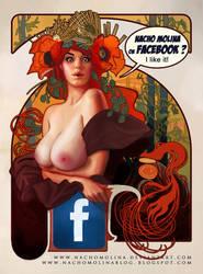 MUCHA GIRL for FACEBOOK by nachomolina