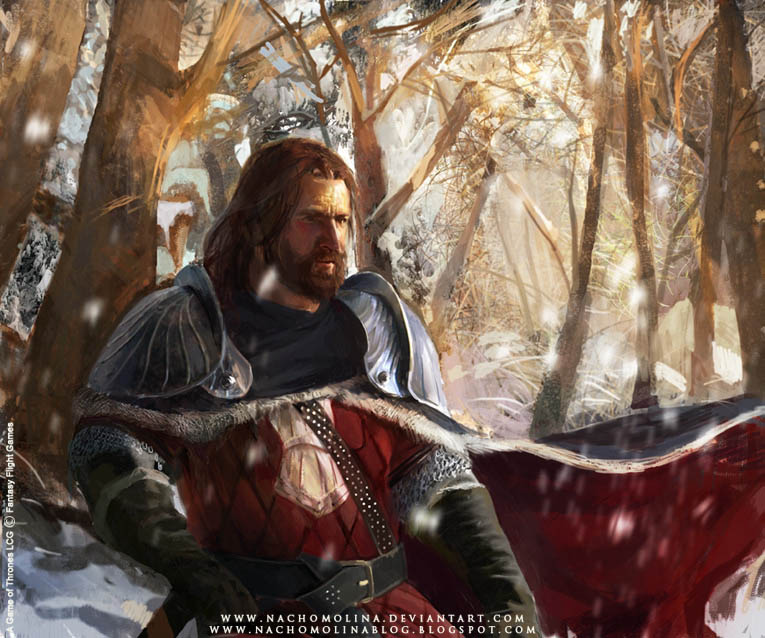 A GAME OF THRONES G.Glover by nachomolina