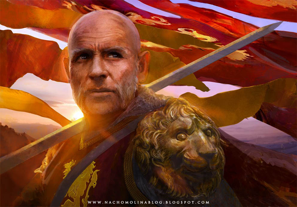 TYWIN LANNISTER by nachomolina