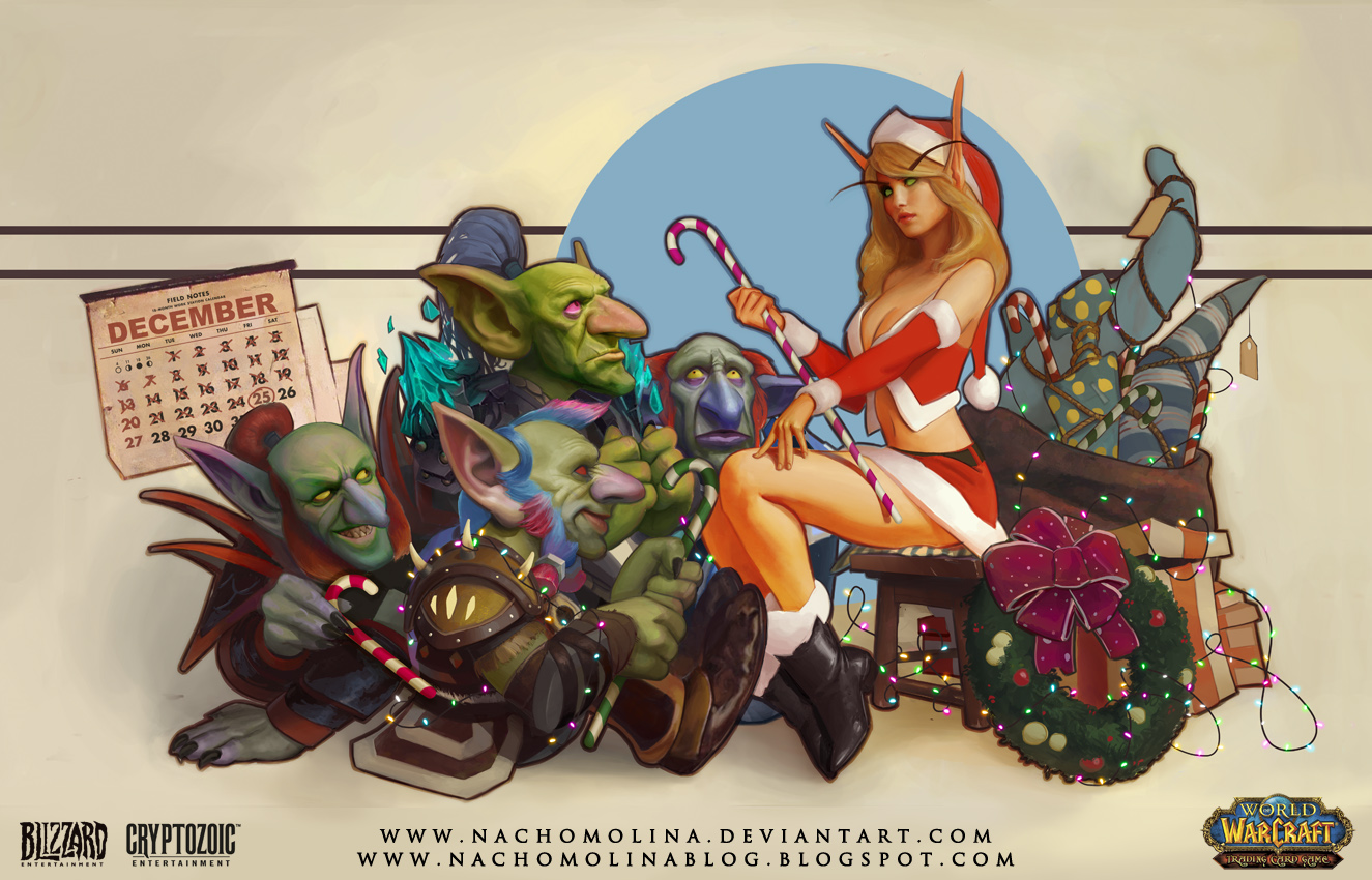 WORLD OF WARCRAFT: The Fest of Winter Veil by nachomolina