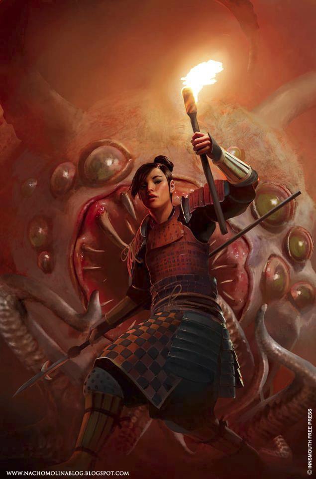 SWORD and MYTHOS by nachomolina
