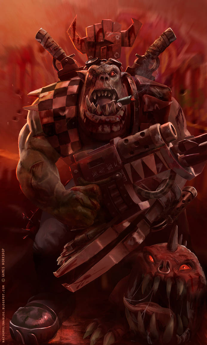 THE RED WAAAGH: Orks