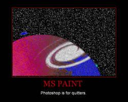 Demotivator 6: MS Paint